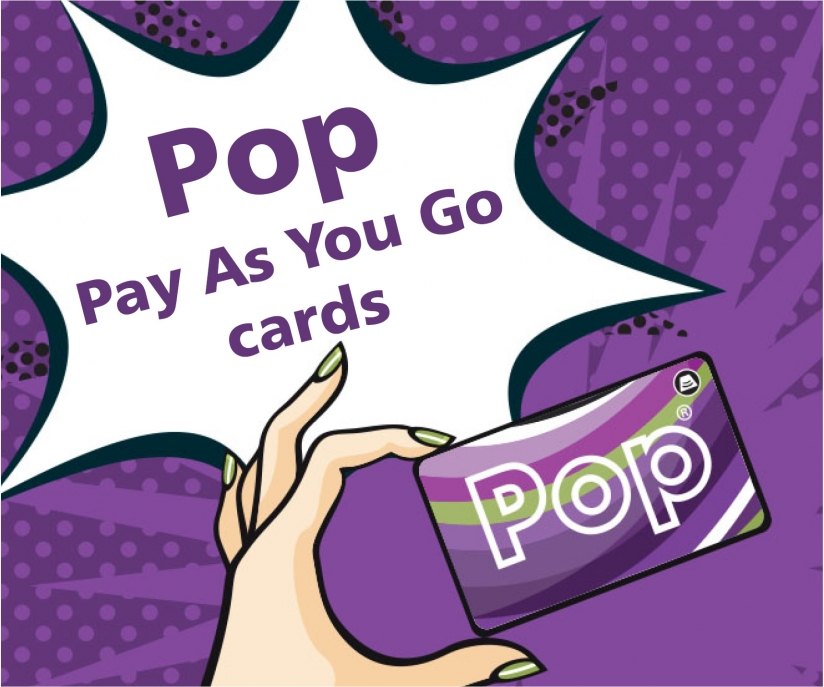 Pop Pay As You Go banner