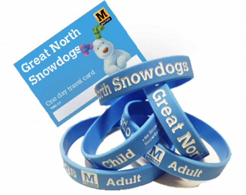 Snowdog wristbands