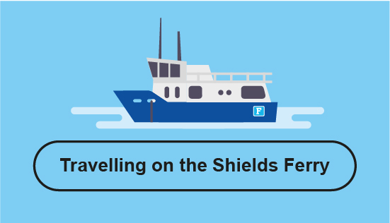 Travelling on the Shields Ferry