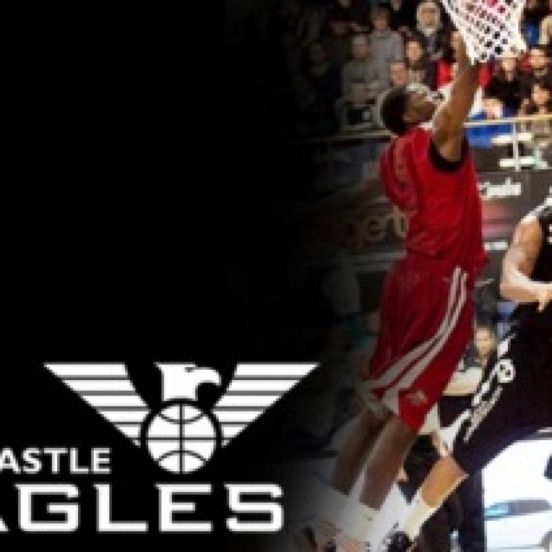 Newcastle Eagles Basketball banner