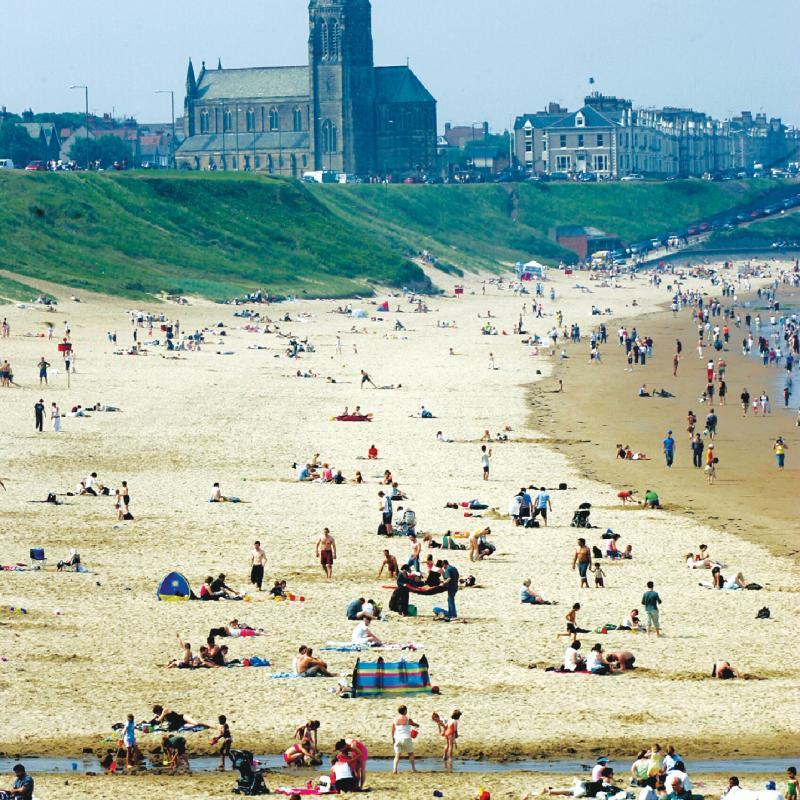 Tynemouth Longsands Beach