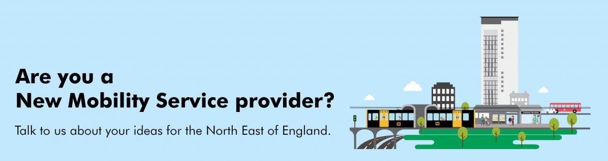 Are you a New Mobility Service provider?