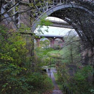 Ouseburn Valley bridge