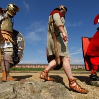 Segedunum Roman Fort actors