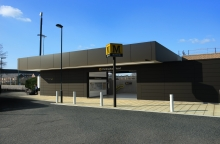 Architect impression of Chillingham Road Metro Station