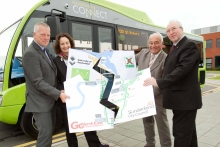 Partners with giant jigsaw of Sunderland Connect route