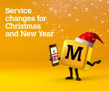 Christmas and New Year timetable information