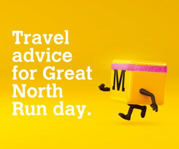 Travel advice for Great North Run day