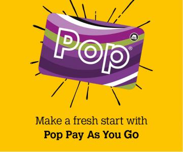Make a fresh start with Pop PAYG