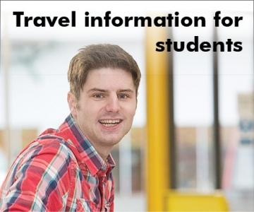 Travel information for students