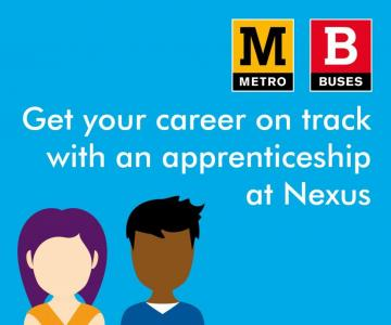 Get your career on track with an appreniceship at Nexus