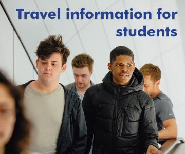 Travel informaton for students