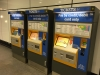 Metro ticket machines at Central Station in Newcastle