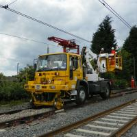 Overhead wire works photo