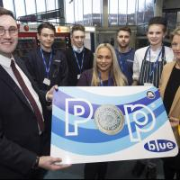 The launch of the Pop blue card