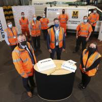 Stadler team take over at Metro Gosforth depot at 12am on Sunday 4 October