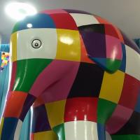 Elmer the Elephant statue