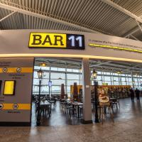 bar at newcastle airport