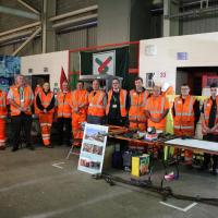 Nexus rail engineers at the event