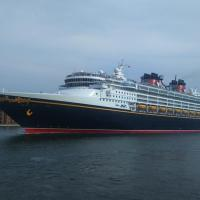 The Disney Magic cruise ship