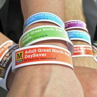 Great North Run wristbands 2016