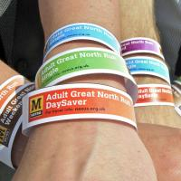 Photo of Metro Great North Run wristbands