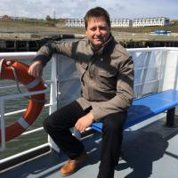 TV's George Clarke on the Ferry