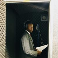 15 year old Yuri Neves records extracts from Dr King's speech