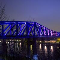 Metro Bridge spanning the River Tyne