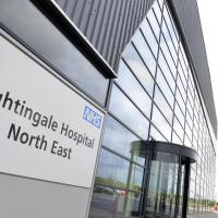 The NHS Nightingale Hospital in Sunderland