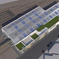 Artists impression of new depot