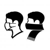 Face coverings logo