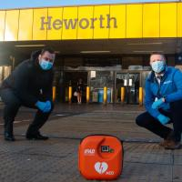 The Heworth defibrillator