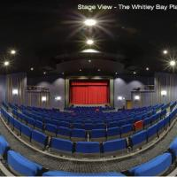 Whitley Bay Playhouse stage