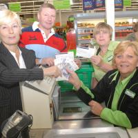Asda 'Help for Heroes' donation