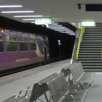 New Sunderland station nears completion.
