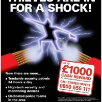 Cable theft poster