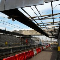 modernisation work at Chillingham Road Metro Station