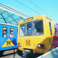 Metro trains at Tynemouth