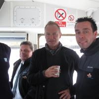 Sting on Shields Ferry