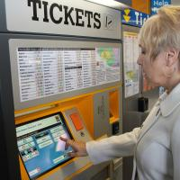 New Metro ticket machine