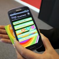 Smartphone app for checking Pop cards