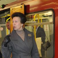 The Princess Royal officially opens Haymarket Metro station
