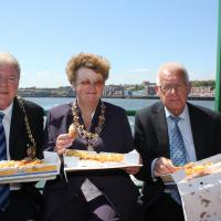 Mayor and Mayoress of South Tyneside and Cllr Tom Hanson