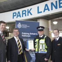 Tyne and Wear Metro are presented with Safer Tram Stop accreditation