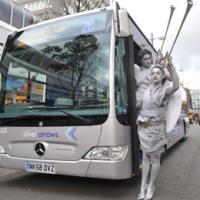 Silver Arrows bus