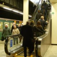 Sunderland escalator.