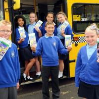Pupils from St Mary's RC Primary School, Whickham