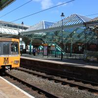 Metro at Tynemouth Station
