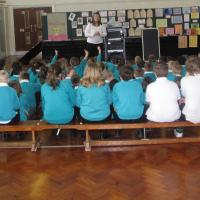 Rebecca Ditchburn talks to Whitehouse Primary School